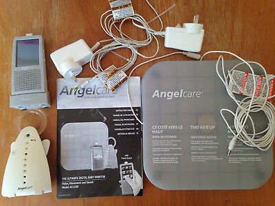 Angelcare 3 in 1 video, movement and sound monitor