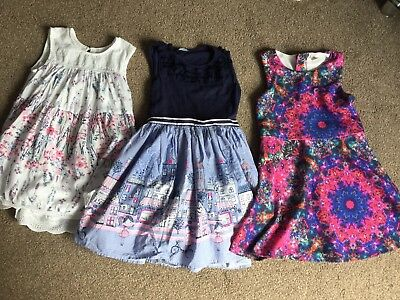Girls Summer Dress Bundle 8-9 Years Tu Clothing George