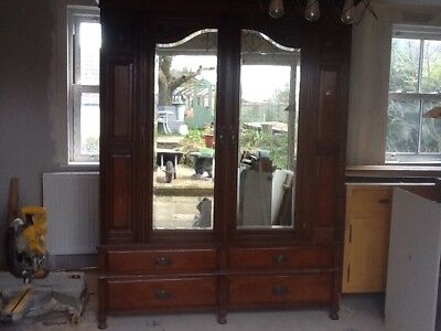 Beautiful Wardrobe Large Victorian Retro