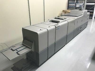 Ricoh Pro C751 Digital Press with Plockmatic finisher - Printing Equipment
