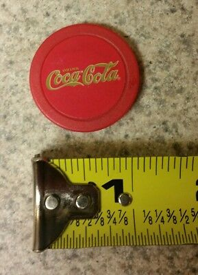 Coca Cola Magnet Button Bottle Cap Red New Round Collector