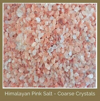 Himalayan Pink Salt- COARSE GRIND Bath Salts Soap Craft 100% Pure - SYDNEY Post