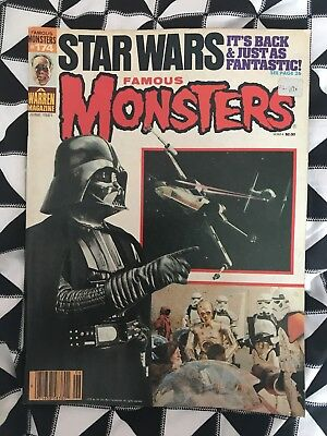 FAMOUS MONSTERS OF FILMLAND #174 June 1981 Good CONDITION