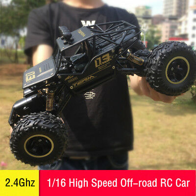 2.4G 1/16 RC Car 4WD Radio Control High Speed Off-Road Truck Toys Buggy Vehicle