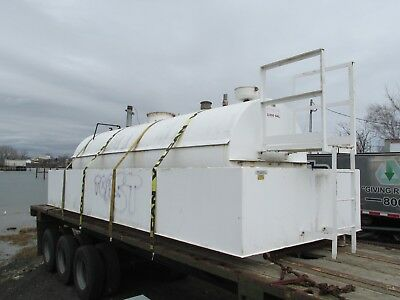 3000 Gallon #2 Fuel Tank with Dike 8' x 22'