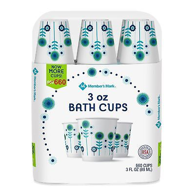 Members Mark Dixie Cold Disposable 3 oz. Bath Cups Drink Paper - 660 ct.
