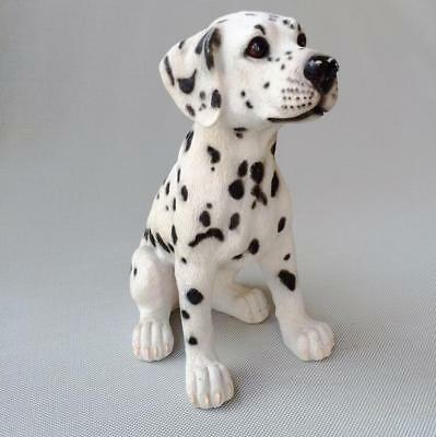 """11"""" Hand Painted Creative Resin Lifelike Chinese Zodiac dog Statue Sculpture"""