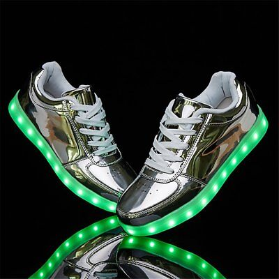 038be7ac39f07 SANYES USB CHARGING Light Up Shoes Sports Led Shoes Dancing Sneakers