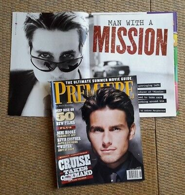 Tom Cruise Clippings Pack Of Vintage Clippings From Uk/usa - Free Shipping Eu