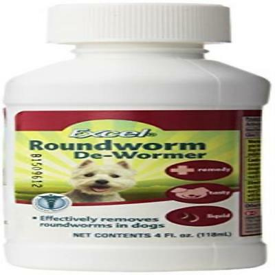 Excel Dog Roundworm De-Wormer 4 Oz J715a Pet US SELLER New