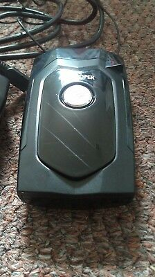 Snooper 4 GPS Fixed & Mobile Speed Camera Detector .working, sold as seen.
