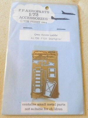1/72nd F-104 PE crew Access ladder from PP Areoparts