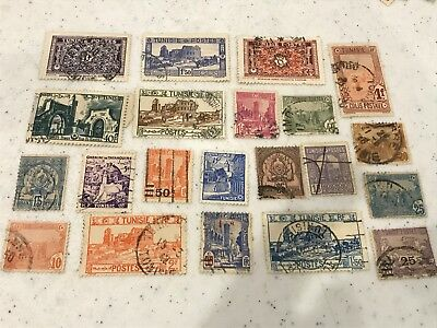 Tunisia collection used  lot   (5341)