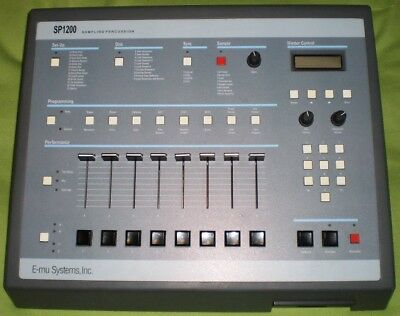 E-Mu SP-1200 Seltene graue Version