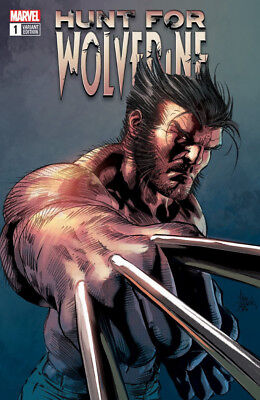 HUNT FOR WOLVERINE #1 Mike Deodato Vaiant Cover Marvel 1st Print New & Unread NM