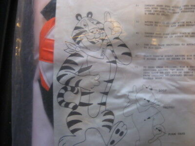 Rare! Kellogg's  Tony the Tiger Inflatable - Never used, Vintage