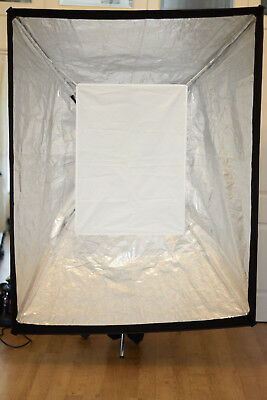 Huge Soft Box with two x 1k lights for Tungsten, Fluorescent or LED