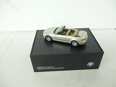 Kyosho Bmw 6 Series Convertible - E64 - Champagne 1:43  Top Dealer Box