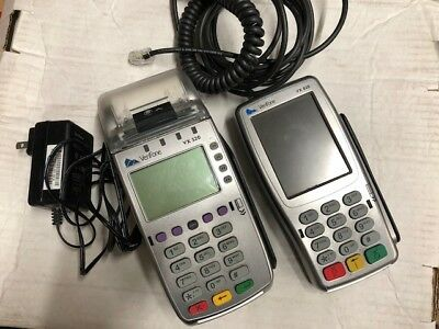 USED VeriFone Vx520 and Vx805 -Elavon + free shipping