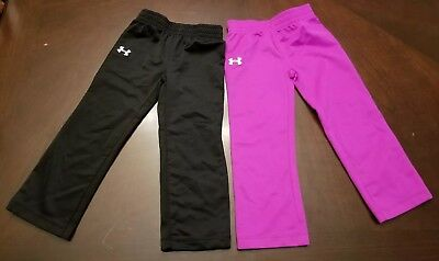Lot of 2: Under Armour Baby Girl 2T Pants