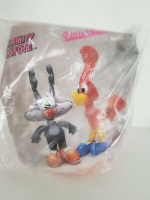 Looney Tiny Tunes Little Beeper Road Runner 20 In Inflatable Doll Toy '90 Sealed