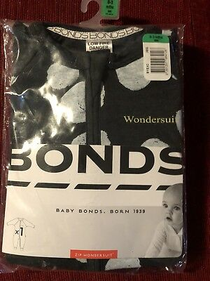 Bonds Wondersuits Size 000 Lot Of 3