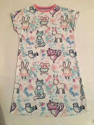 new girls ex st gorgeous night dress nightie age 3-4 4-5 5-6 6-7 CHRISTMAS PJS