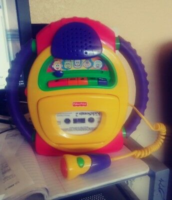 Fisher-Price Tuff Stuff Cassette Recorder Voice Changer Tape Player