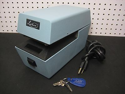 Lathem LTT Heavy Duty Automatic Date Time Recorder Document Stamp with KEY