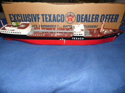 Ss Texaco North Dakota Ship Amf Wen-Mac Exclusive Texaco Dealer Offer Advertisin