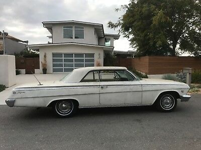1962 Chevrolet Impala SUPERSPORT Rare 1962 CHEVROLET Chevy IMPALA SS 409 4 speed Dual quads Dale Armstrong owned