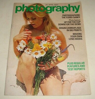 Vintage PHOTOGRAPHY Magazine Apr 1969 - Great Photo's, Camera Adverts & Reviews