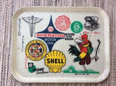 Vintage SI-Lite Advertising Food Tray SI LITE~SHELL CHICKEN IN THE ROUGH -Rare