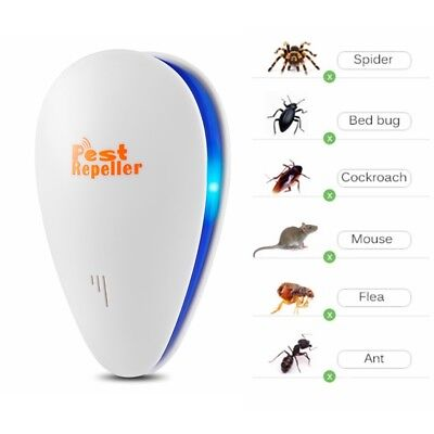Ultrasonic Pest Reject Electronic Repeller Anti Mosquito Insect Killer Mice Bugs