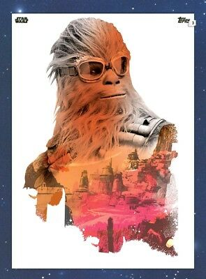 Digital Topps Star Wars Card Trader Solo Galactic Wasteland Chewbacca