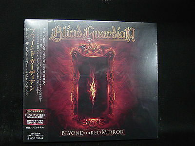 BLIND GUARDIAN Beyond The Red Mirror + 4 DELUXE EDITION JAPAN 2CD Rage Edguy