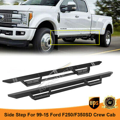 10 Pc: SS Rocker Panel Body Trim, 4.5 Wide - Lower: Bottom of The Door UP to The specified Width, 2-Door, Reg Cab, Short Bed, NO Flares TH57321 QAA FITS F-250 /& F-350 Super Duty 2017-2019 Ford