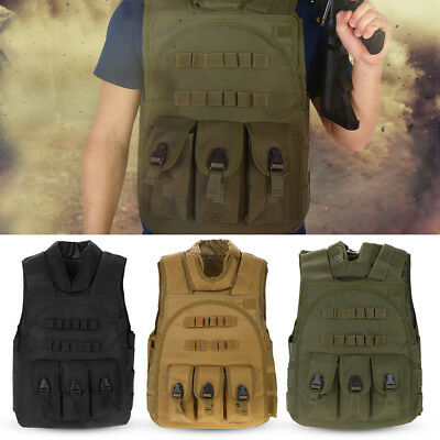 Outdoor Sports Tactic Nylon Vests Security Waistcoat Training Protective Vests