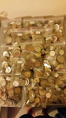 Half Kilo Of World Coins