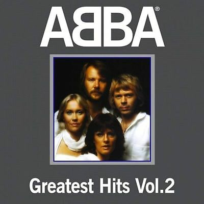 ABBA Greatest Hits Vol 2 LP Cover Sticker Or Magnet