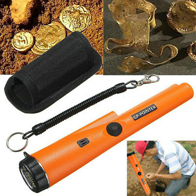 Waterproof Automatic Pro Pointer Pinpointer Metal Gold Hand Detector Holster Kit