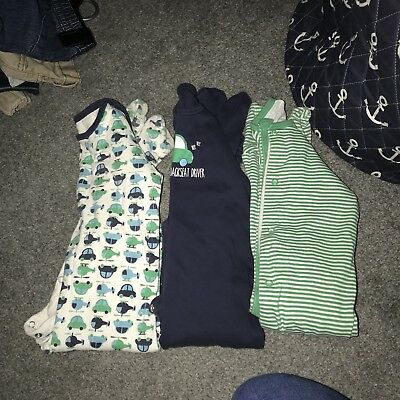 Boys 18-24 Month Sleepsuits