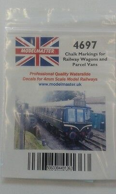 200 Chalked Instructions & Destinations Decals for wagons Modelmaster MM4697 L1