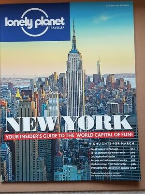 Lonely Planet Traveller Magazine - New York Insiders Guide. Portugal March 2015