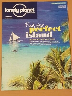 Lonely Planet Traveller Magazine - Island Breaks, India, Nordic Food April 2016
