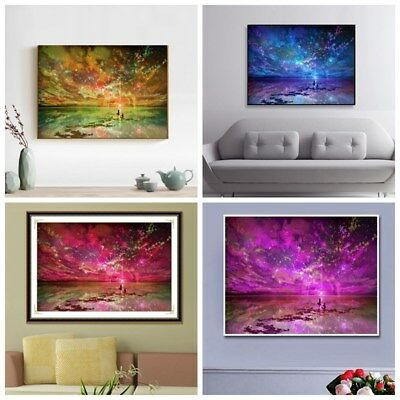 Full Drill DIY 5D Diamond Painting Embroidery Cross Crafts Stitch Home Decors AU