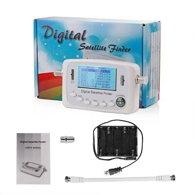 SF500 Digital TV Satellite Signal Finder Tester TV Receiver with LCD Display