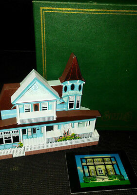 Sheila collectable wood house Mackinac island Michigan