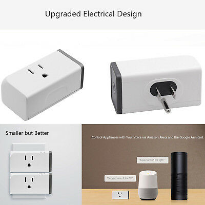US Plug 16A Sonoff S31 WiFi Smart Switch Socket Wifi APP Remote Power Monitor