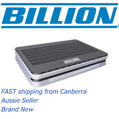 Billion BiPAC 8900X R3 VPN Triple Wan 3G VDSL2 ADSL2+ Modem Router Wireless R3